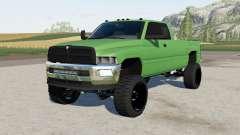 Dodge Ram Club Cab lifted для Farming Simulator 2017