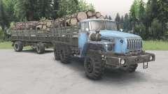 Урал-43Ձ0-10 для Spin Tires
