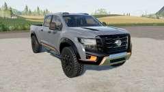 Nissan Titan Warrior 2016 для Farming Simulator 2017