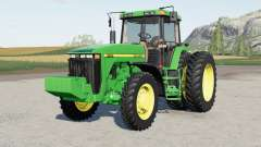 John Deere 8100〡8200〡8300〡8400 для Farming Simulator 2017
