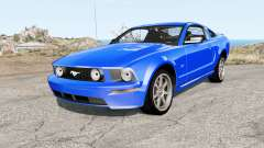 Ford Mustang GT 2005 для BeamNG Drive