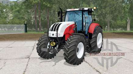 Steyr 6230 CVƬ для Farming Simulator 2015