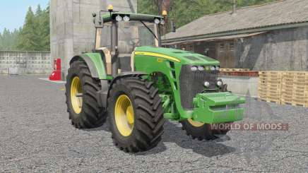 John Deere 8130〡8230〡8330〡8430〡85ƺ0 для Farming Simulator 2017