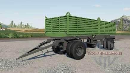 Gosa dump trailer для Farming Simulator 2017