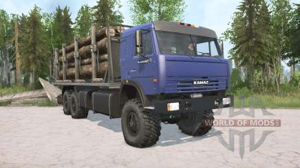 КамАЗ-43118 для MudRunner
