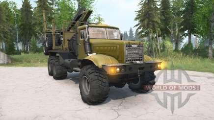 КрАЗ-255Л для MudRunner