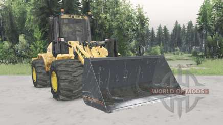 New Holland W170C v1.4 для Spin Tires