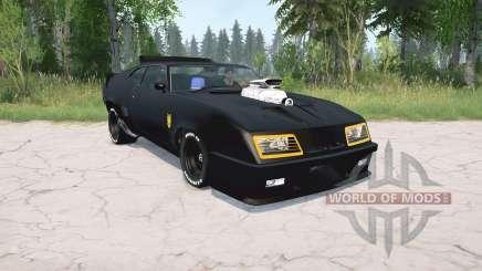 Ford Falcon GT Pursuit Special V8 Interceptor для MudRunner