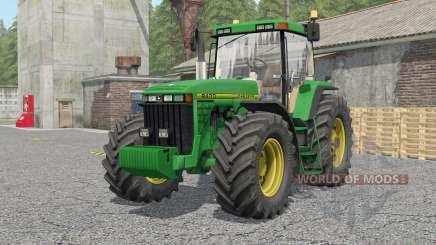 John Deere 8100〡8200〡8300〡8400〡8410 для Farming Simulator 2017