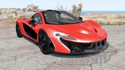 McLaren P1 2014 для BeamNG Drive