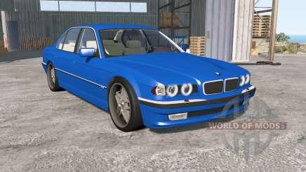 BMW 750iL (E38) 1998 для BeamNG Drive