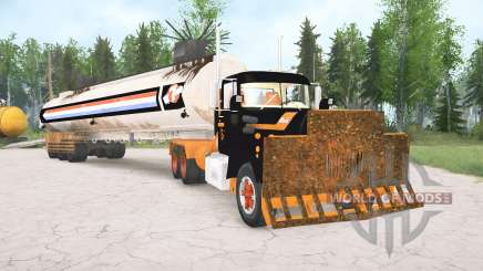 Mack R600 The Tanker для MudRunner