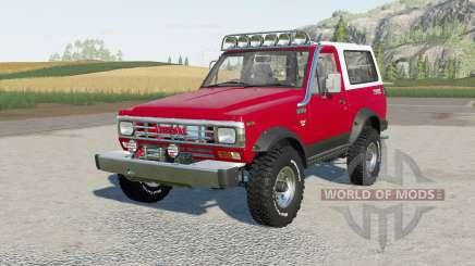 Nissan Safari Hard Top (161) 1983 для Farming Simulator 2017