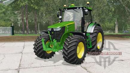 John Deere 7310Ɍ для Farming Simulator 2015
