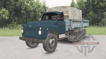 ГАЗ-53 полугусеничный для Spin Tires