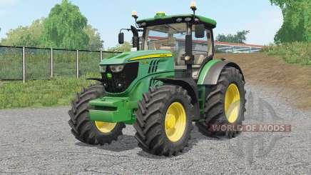 John Deere 6R-serieᶊ для Farming Simulator 2017