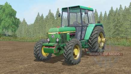 John Deere 30ろ0 для Farming Simulator 2017