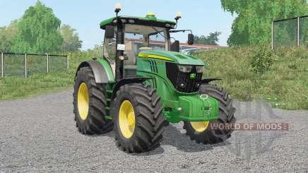 John Deere 6R-serieꞩ для Farming Simulator 2017