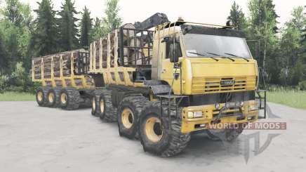 КамАЗ-6560 Полярник для Spin Tires