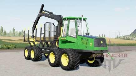 John Deere 1110D Eco III для Farming Simulator 2017