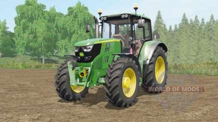John Deere 6115M〡6135M〡6155Ɱ для Farming Simulator 2017