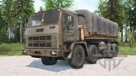 КрАЗ-2Э-6305 для MudRunner