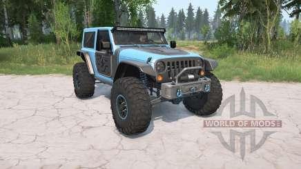 Jeep Wrangler (JK) 2017 Trailcat для MudRunner