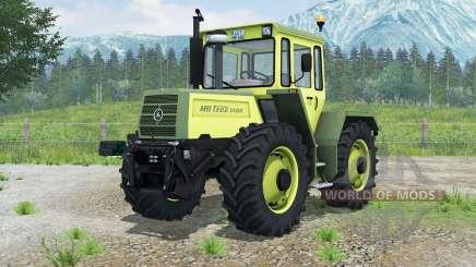 Mercedes-Benz Trac 1500 для Farming Simulator 2013