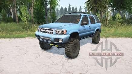 Nissan Pathfinder (R50) 2004 lifted для MudRunner