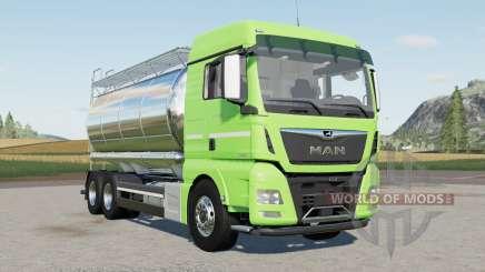 MAN TGX 26.640 Tanker для Farming Simulator 2017