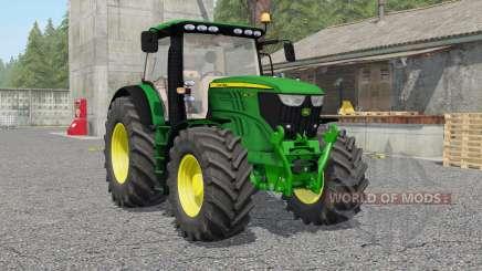 John Deere 6210Ꞧ для Farming Simulator 2017