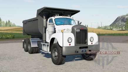 Mack B61 dump truck 1963 для Farming Simulator 2017