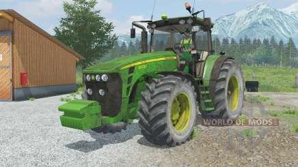 John Deere 84ろ0 для Farming Simulator 2013
