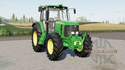 John Deere 6030-series для Farming Simulator 2017