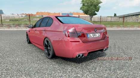 BMW M5 (F10) 2012 для Euro Truck Simulator 2