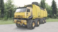 КамАЗ-6560 Полярник v1.1 для Spin Tires