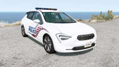 Cherrier FCV Belasco City Police v1.2.2 для BeamNG Drive
