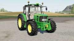 John Deere 6030 Premiuɱ для Farming Simulator 2017