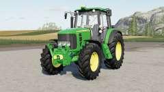 John Deere 6030 Premiuᵯ для Farming Simulator 2017