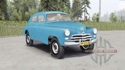ГАЗ М-72 1955 для Spin Tires