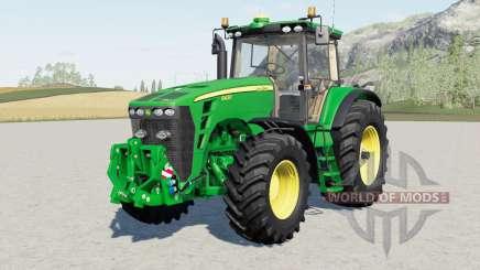 John Deere 8030-serieʂ для Farming Simulator 2017