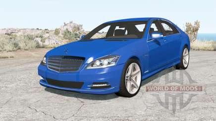 Mercedes-Benz S 600 (W221) 200୨ для BeamNG Drive