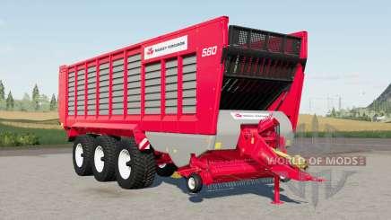 Krone ZX 560 GⱰ для Farming Simulator 2017