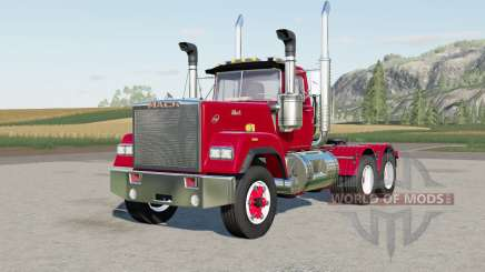 Mack Super-Liner Day Caƀ для Farming Simulator 2017