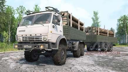 КамАЗ-4ვ10 для MudRunner