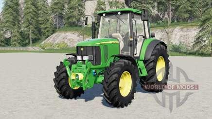 John Deere 6020-serieᶊ для Farming Simulator 2017