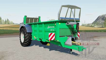 Samson SP 14 для Farming Simulator 2017