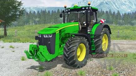 John Deere 8370Ɍ для Farming Simulator 2013