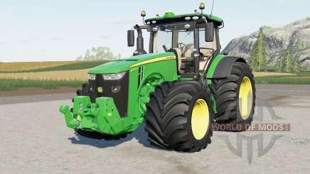 John Deere 8R-seriꬴs для Farming Simulator 2017
