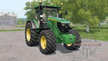 John Deere 6R-serieꚃ для Farming Simulator 2017